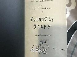 Signed Neil Gaiman Little Gold Book of Ghastly Stories Limited Edition #432/500