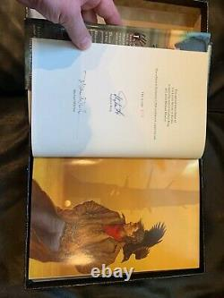 Signed Numbered Limited Edition Stephen King The Little Sisters of Eluria Book