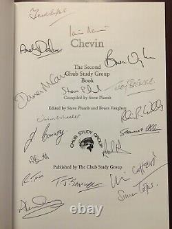 Signed x 18 CHEVIN Chub Study Group Limited Edition Fishing Book no Barbel Carp