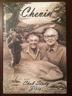 Signed x2 CHEVIN Limited Edition Fishing Book CHUB STUDY GROUP 386/700 no Barbel