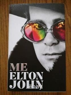 Sir Elton John Me Book Hand Signed Book Plate Rare hardback 1st/first edition