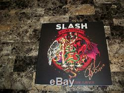 Slash Rare Signed Limited Edition 1000 Made Book Apocalyptic Love Guns N' Roses