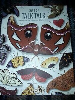 Spirit Of TALK TALK Book, Paperback edition signed by original Talk Talk member