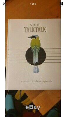 Spirit Of Talk Talk Book- Hardcover Signed First Edition