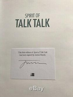 Spirit Of Talk Talk James Marsh Book Signed 1 St Edition