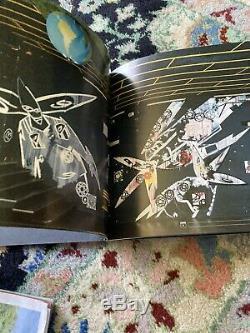 Splatter painted Futura 2000 Hand signed limited edition Book Defumo Rare