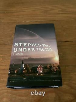 Stephen King Autographed Under The Dome Signed First Edition Book HCDJ Hardcover