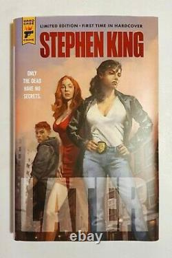 Stephen King Later 1st Edition limited HAND SIGNED & NUMBERED hardback book