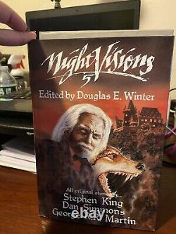 Stephen King Night Vision 5. First (limited) edition Signed. Book 22 Out Of 800