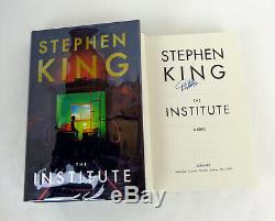 Stephen King Signed Autograph The Institute 1st Edition/1st Print HC Book