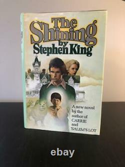 Stephen King Signed Autograph The Shining Book Very Rare, Early Edition