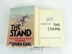 Stephen King Signed Autograph The Stand 1st Edition/1st Print T39 Hardcover Book