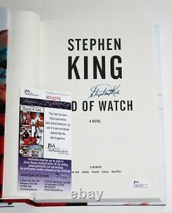 Stephen King Signed End Of Watch First 1st Edition Hardcover Hc Book +jsa Coa
