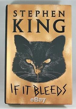 Stephen King Signed If It Bleeds First 1st Edition Hardcover Hc Book Very Rare