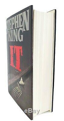Stephen King Signed'it' 1st/1st Edition Printing Hardcover Hc Book