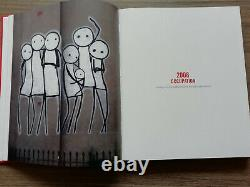 Stik Signed Rare Art Book 1st Edition & Red Limited Print Signed Poster 2015