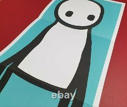 Stik Teal Print & Book 2016 USA 1st edition poster Mint Condition not signed