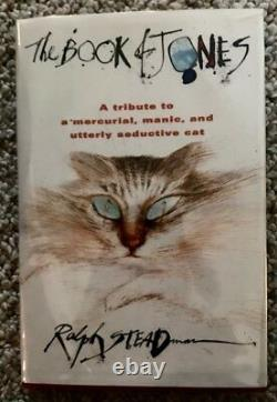 THE BOOK OF JONES-RALPH STEADMAN-SIGNED-1st US EDITION-1997-FINE CONDITION