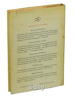 THE BOOK On the Taboo by ALAN WATTS SIGNED First Edition 1966 Zen 1st Print
