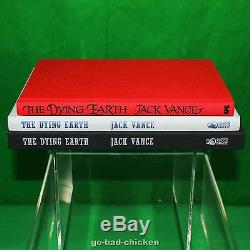 THE DYING EARTH 2 Signed Limited Edition Books 1 FROM THE ESTATE OF JACK VANCE