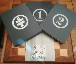 Take That Take One & Take Two SIGNED NUMBERED LIMITED EDITION SLIPCASED 2x books