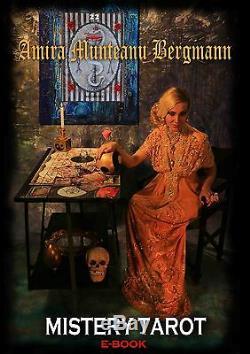 Tarot card desk + Book + Reading rare edition handmade artist signed certified