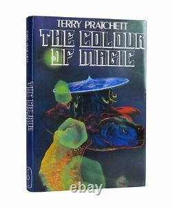 Terry Pratchett The Colour of Magic Signed First UK Edition 1983 1st Book