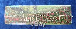 The Alice Tarot 1st Edition NEW Companion Book Signed Set of 10 Illustrations