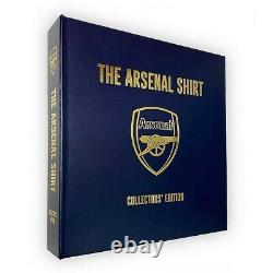 The Arsenal Shirt Limited Edition Book signed by Tony Adams