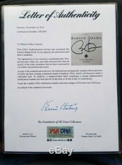 The Audacity of Hope Barack Obama, Signed 1st Edition, 1st Print Book PSA/DNA