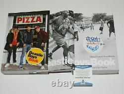 The Beastie Boys Signed First Edition Book Beckett Coa Bas Mike D Ad-rock Band