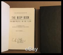 The Body Book SIGNED by CLIVE BARKER New Sealed Limited Edition Hardback 1/500