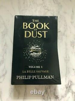 The Book Of Dust Signed Limited Edition Volume 1 La Belle Sauvage Philip Pullman