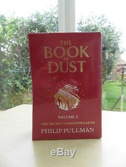 The Book Of Dust Volume 2 by Philip Pullman signed ltd 1st edition