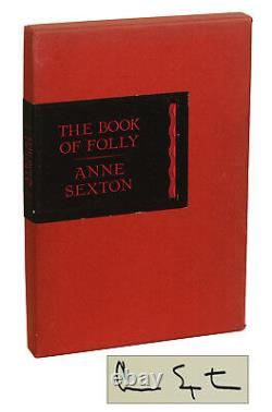 The Book of Folly by ANNE SEXTON SIGNED Limited First Edition 1972 1/500 1st