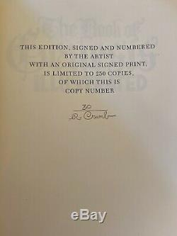 The Book of Genesis Illustrated R. Crumb Signed Limited Edition w Signed Print