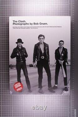 The Clash Book + Signed Photo Limited Numbered Edition Sealed Omnibus 2015