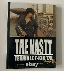 The Nasty Terrible T-Kid Book Silver Edition Signed, Sealed, Graffiti Buch