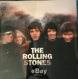 The Rolling Stones Taschen Sumo Size Limited Edition Book RARE Signed