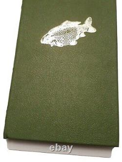 The Secret Carp Christopher Yates Leatherbound Signed Book Limited Edition New