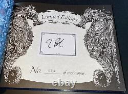 Tim Burton Signed Limited Edition Book Dark Shadows #715/1000