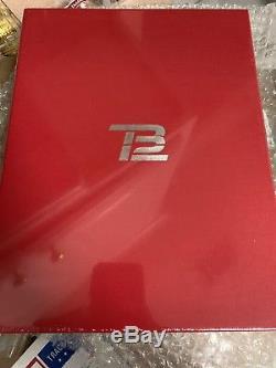 Tom Brady Signed Tb12 Method Book Limited Edition Autograph Copy Sealed Rare Ed