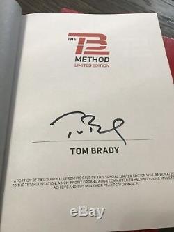 Tom Brady Signed Tb12 Method Book Limited Edition! New England Patriots Auto