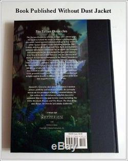 UNREAD Disney Out of Prnt'Tarzan Chronicles' Art Book Signed 3x 1st Edition COA