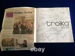 Unique Signed Troika 50th Anniversary Edition Book
