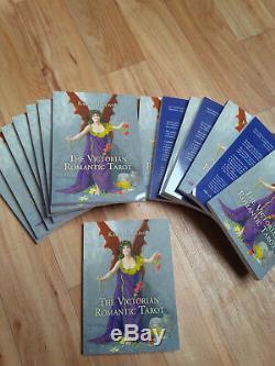 Victorian Romantic Tarot Deck SIGNED 2012 edition BN & FREE 2018 book & FREEPOST