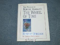 Vintage Book The World of Robert Jordan's The Wheel of Time, Signed, 1st Edition
