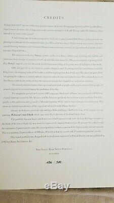 Walt Disney The Jungle Book Art Portfolio Signed Limited Edition Set #436/500
