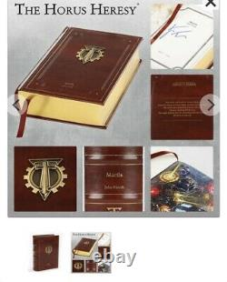 Warhammer Mortis Siege of Terra Book 5 Limited Edition Signed