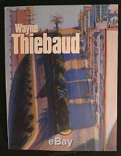 Wayne Thiebaud SIGNED 1st Edition Book Sf Moma 1985 Tsujimoto Catalogue